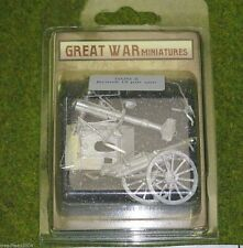 GREAT WAR MINIATURES British 18 PDR GUN Mk1  28mm GUN2
