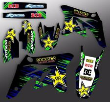 2004 2005 KXF 250 GRAPHICS KAWASAKI KX250F MOTOCROSS DIRT BIKE DECALS