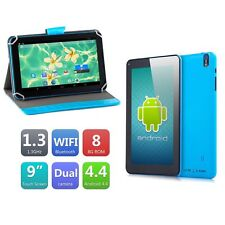 "9"" inch Tablet PC Quad Core Google Android 4.4 KitKat Allwinner Dual Camera WiFi"