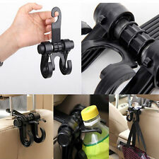 Multifunction Plastic Hooks Car Auto Seat Chair Storage Purse Bag Hanging Double