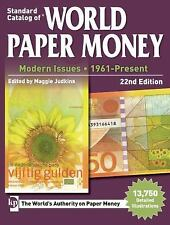World paper money catalogue 1961-present 22nd issue