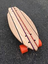 "Mini Cruiser Skateboard -  Kaputa ""Mini Croozer"" (Oak Wood)"