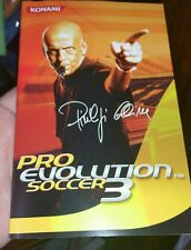 BOOKLET/MANUAL ONLY FOR PRO EVOLUTION SOCCER 3 PS2 (NO GAME)-  FREE POST