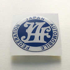 JAF japan automobile federation Sticker Decal soft coated COROLLA KE20 KE30 KE70