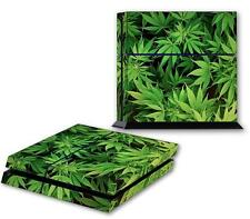 CANNABIS PS4 Skin Vinyl Decal PlayStation 4 Designer Sticker Weed Marijuana 022