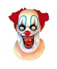Rico the Clown full Head & Neck Scary Halloween Mask by Ghoulish Productions