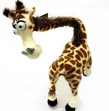 "Fashion Cute TY Madagascar Giraffe Melman Stuffed Plush Doll 14"" Children Gift"