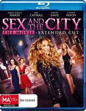 Sex and the City: The Movie BLU-RAY extended ed, Sarah Jessica Parker Region B