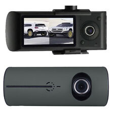 2.7″ HD Dual Lens Cameras Car DVR Vehicle Dash Cam Video Recorder G-sensor GPS