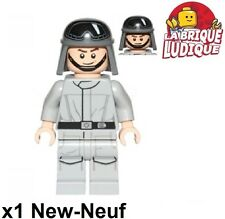 Lego - Figurine Minifig Star Wars Imperial AT-ST Driver pilote sw797 75153 NEUF