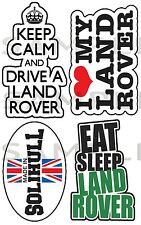 Land Rover printed Sticker Kit, 4X4 Off Road Stickerbomb