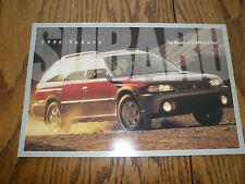 1996 Subaru Outback Legacy Sales Brochure Forester Impreza SVX LSI
