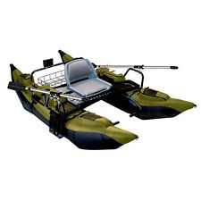 Classic Accessories Colorado 1-Man Pontoon Fishing Boat Sage and Black