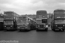 Tayside Daimlers depot yard Dundee 1976 Bus Photo