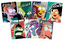 Futurama: The Complete Series DVD Volume 1-7 Collection Brand New