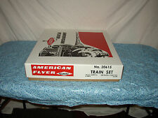 AMERICAN FLYER TRAIN SET #20615 THUNDERBOLT IN REPRO BOX READY TO RUN  #Y-33