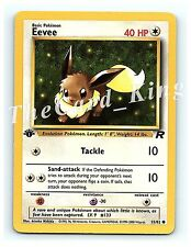 1st Edition EEVEE 55/82 Common Team Rocket Pokemon Cards NEAR MINT NEW