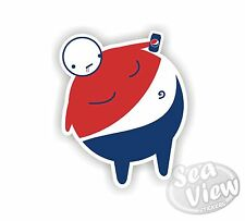 Pepsi Man Brand Drink Logo Beverage Car Van Sticker Stickers Decal Sticker