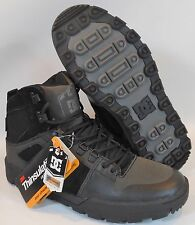 DC Shoes Men's Spartan High WR Boots - size 8 Black Gray (XKKS)