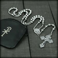 WWI Military Style Rosary - Strong + Rugged - FREE Carry Pouch + FREE Shipping