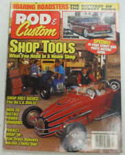 Rod & Custom Magazine Shop Tools & How To Install Windows July 1995 051115R
