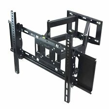 "Double Cantilever Arm Tilt Swivel TV Wall Mount Bracket Fr 30-62"" 4K UHD LCD LED"