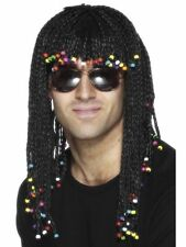 Unisex Funky Reggae Wig Braided Fancy Dress Stag Bob Hen Music Festival Marley