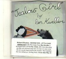 (DU60) Ben Kweller, Jealous Girl - 2012 DJ CD