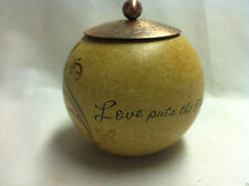 Love Puts the Hope in Tomorrw and Joy in the Heart - Tealight