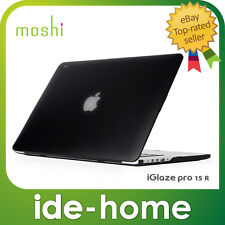moshi iGlaze ultra-slim hardshell case for Retina MacBook Pro 15inch - Black