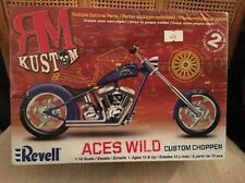 Revell RM Kustom Aces Wild Custom Chopper Model Kit #85-7315 1:12 NISB