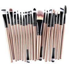 20pcs Makeup Brush Set Foundation Powder Toiletry Kit Wool Cosmetic Brushes N2