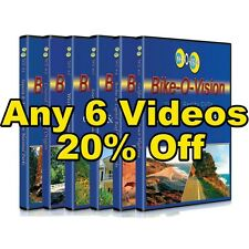 Bike-O-Vision Widescreen 6 DVD Pack 20% OFF