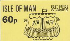 (82750) GB Isle of Man Booklet 60p SB10 1979