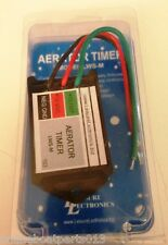 BOAT AERATOR LIVEWELL TIMER, 30 SECONDS x 3 MINUTES, 10 AMP MODEL LWS-M