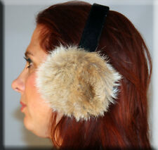 New Russian Lynx Fur Ear Muffs - Efurs4less