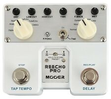Mooer Reecho Pro Twin Dual Digital Delay Gtr Effects pedal TDL1 NEW IN BOX