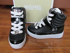 NEW MICHAEL KORS IVY MAE-T HI TOP SNEAKERS BOOTS SHOES TODDLER GIRLS 7