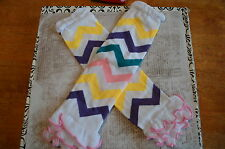 baby legwaremrs leg warmers baby legs ruffle children chevron fall winter bright