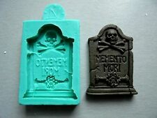 Silicone Mould / HALLOWEEN Headstone 1 by DOMOZETOV ART /