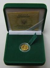 Selten!! Gold Münze Ukraine 2 Griwna  2007 Marmot MARMOTA BOBAK