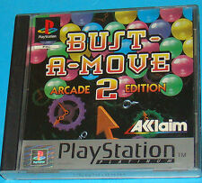 Bust A Move 2 - Arcade Edition - Sony Playstation - PS1 PSX - PAL