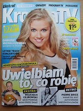 PIERRE BRICE / WINNETOU,Sharon Stone in Polish Magazine KROPKA TV 25/2015