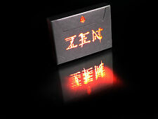 CARTE DA GIOCO ZEN BLACK,poker size
