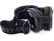 HARLEY DAVIDSON collapsible Motorcycle Goggles BLACK/ Green Lens HDSZ804 BLK-3