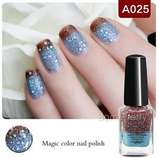 6ml Peel Off Thermolack Farbwechsel Nagellack Nail Color Changing Polish #A025