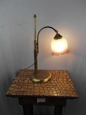 Stehlampe Lampe Messing Antik Berlin  Leuchte Tischlampe Drehbar Frankreich