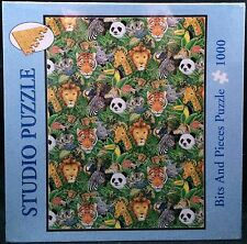 Bits And Pieces 1000 Pc Jigsaw Puzzle Living In Peace Lions Tigers Pandas Zebra