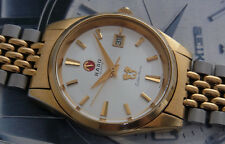 NICE & RARE VINTAGE RADO GOLDEN HORSE QUARTZ MOVEMENT SWISS MADE WATCH GENT SIZE