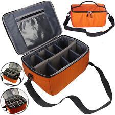 Partition Flexible Fold Padded Camera Lens Insert Bag Dividers Case DSLR SLR